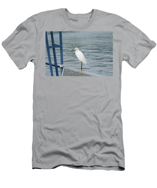 Men's T-Shirt (Athletic Fit) featuring the photograph At The Edge by Kim Hojnacki