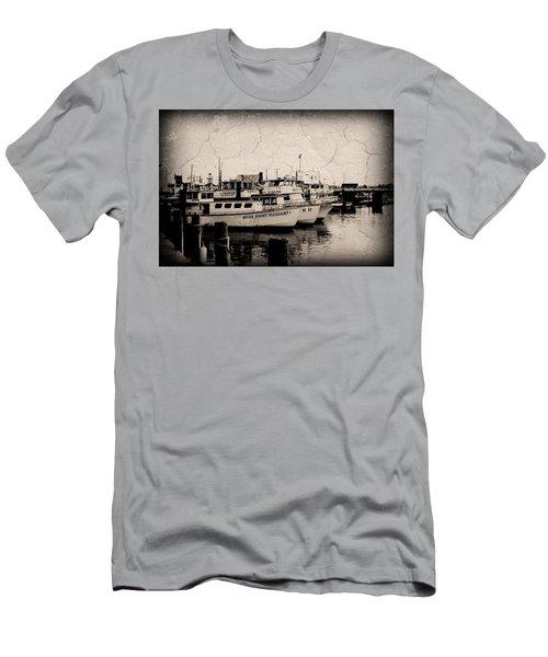 At The Marina - Jersey Shore Men's T-Shirt (Athletic Fit)