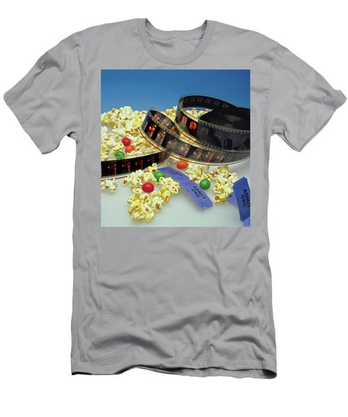 At The Movies  Men's T-Shirt (Slim Fit) by Marie Hicks