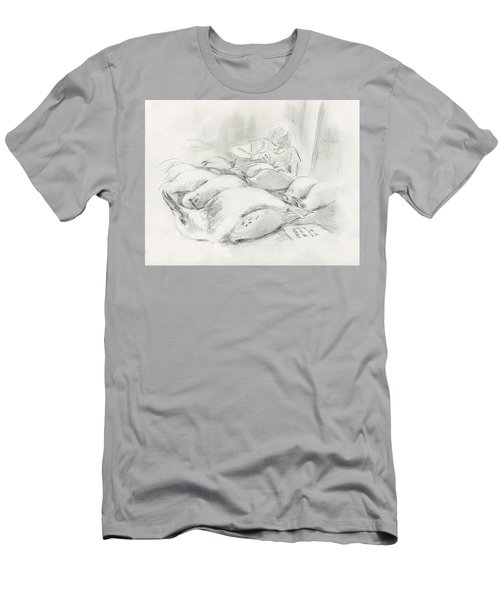 At The Museum II Men's T-Shirt (Athletic Fit)