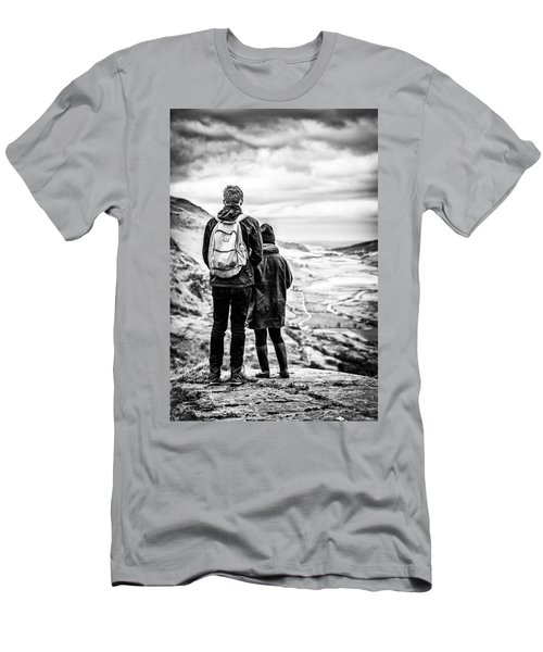 On The Edge Men's T-Shirt (Athletic Fit)