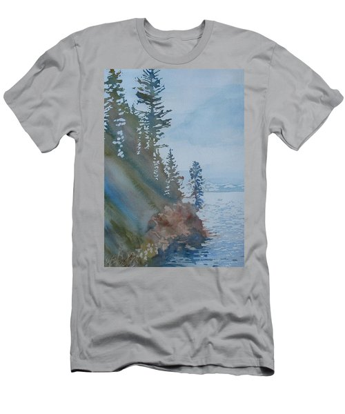 At The Water's Edge Men's T-Shirt (Athletic Fit)