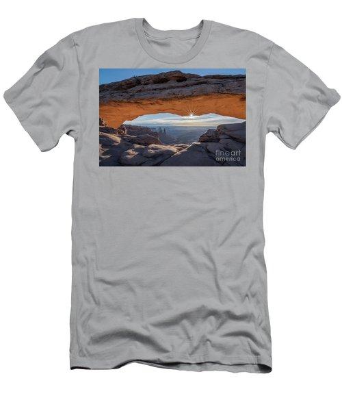 Au Naturel Arch Men's T-Shirt (Athletic Fit)