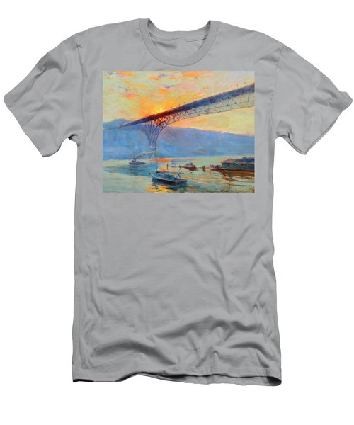 Aurora Bridge, Seattle, Washington Men's T-Shirt (Athletic Fit)