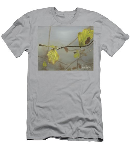 Men's T-Shirt (Slim Fit) featuring the painting Autumn by Annemeet Hasidi- van der Leij