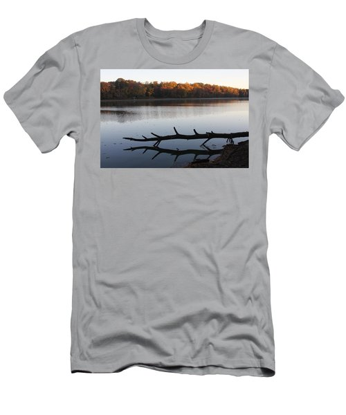 Autumn At The Lake Men's T-Shirt (Athletic Fit)