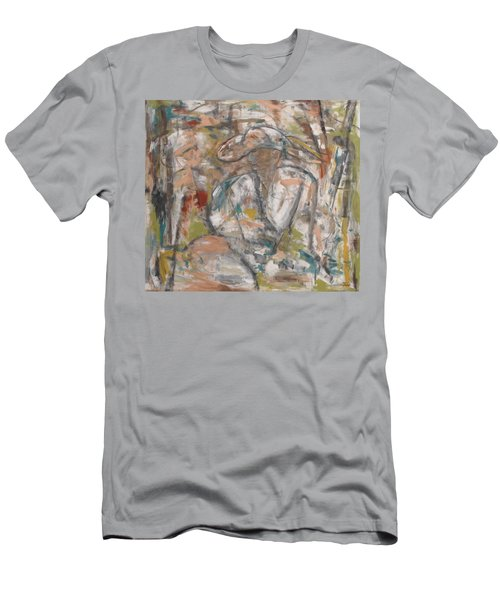 Autumn Breeze Men's T-Shirt (Slim Fit) by Trish Toro