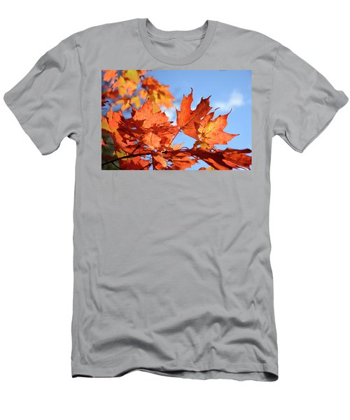 Men's T-Shirt (Athletic Fit) featuring the photograph Autumn Colors 2 by Angie Tirado