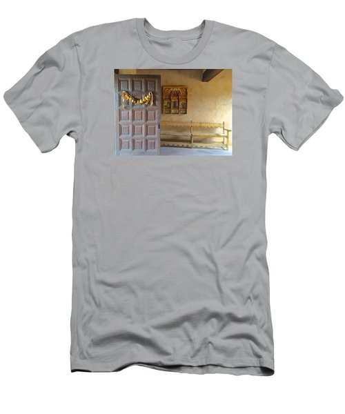 Men's T-Shirt (Slim Fit) featuring the photograph Autumn In Albuquerque by Brenda Pressnall