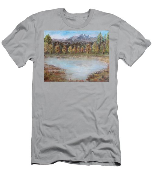 Autumn In Maule Men's T-Shirt (Athletic Fit)