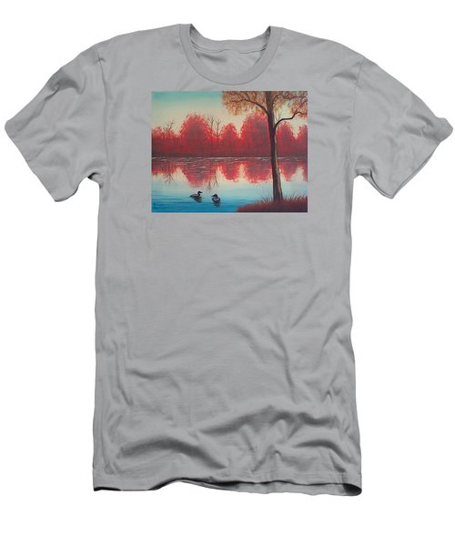 Autumn Loons Men's T-Shirt (Slim Fit) by Brenda Bonfield