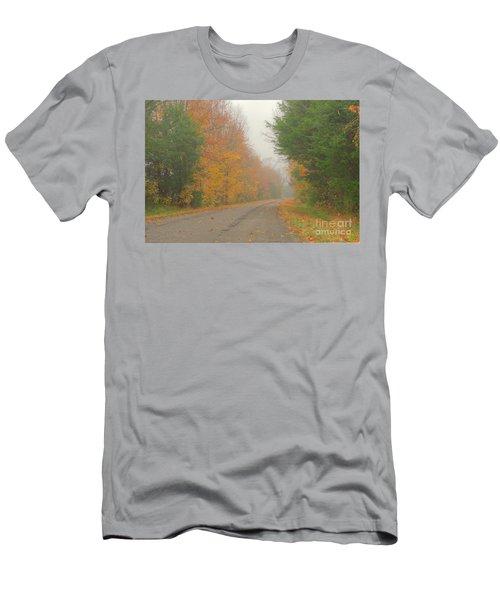 Autumn Roads Men's T-Shirt (Athletic Fit)