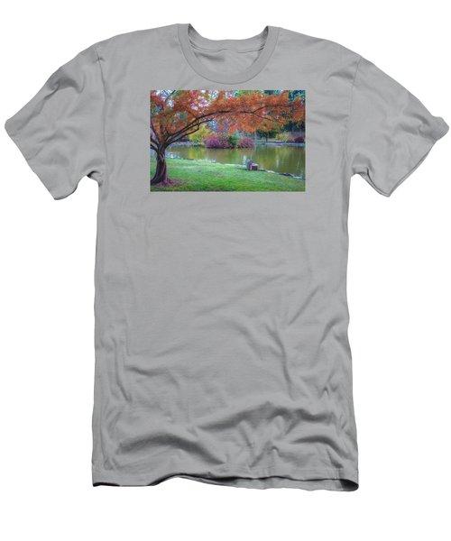 Autumn's Embrace Men's T-Shirt (Athletic Fit)