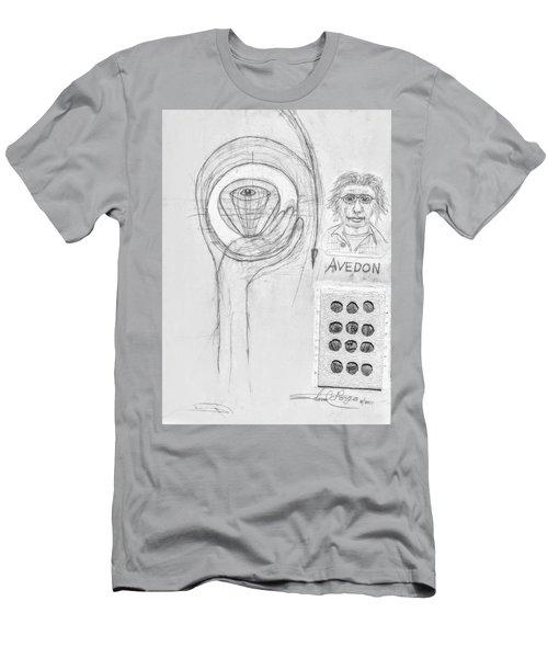 Avedon Master Of The Lens Men's T-Shirt (Athletic Fit)