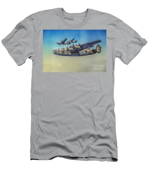 B-24 Liberator Bomber Men's T-Shirt (Athletic Fit)