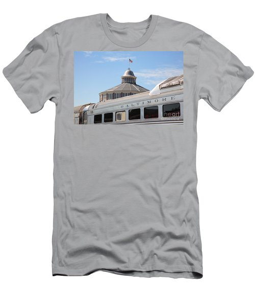 B And O Railroad Museum In Baltimore Maryland Men's T-Shirt (Athletic Fit)