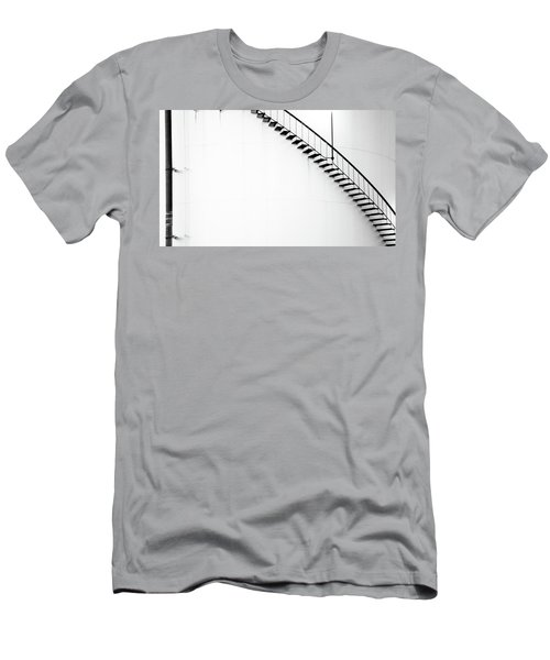 B And W Stairs Men's T-Shirt (Athletic Fit)