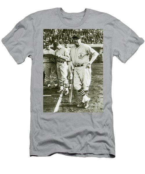 Babe Ruth All Stars Men's T-Shirt (Slim Fit) by Jon Neidert