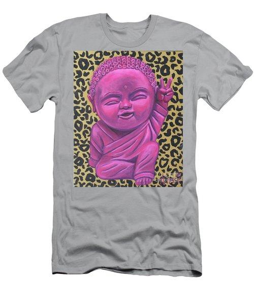 Baby Buddha 2 Men's T-Shirt (Slim Fit) by Ashley Price
