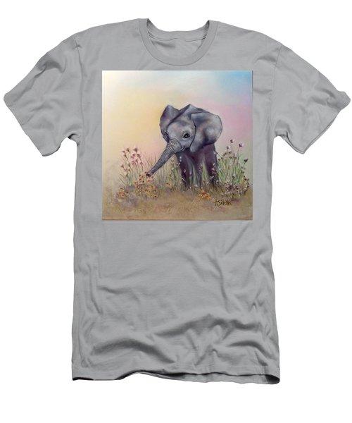 Baby Ellie  Men's T-Shirt (Athletic Fit)