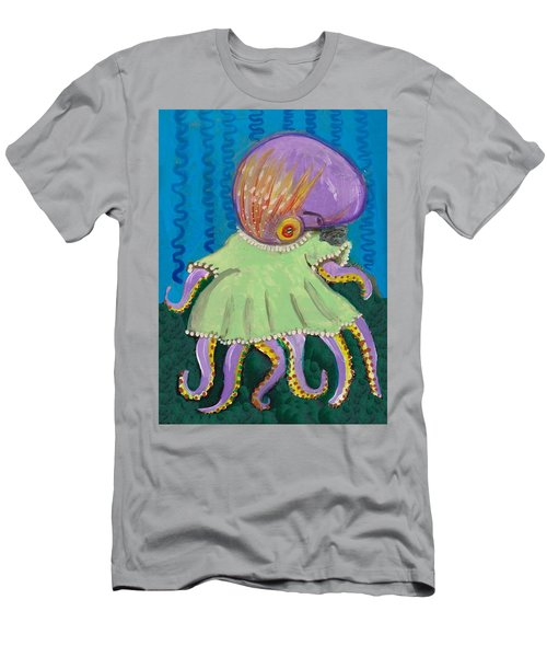Baby Octopus In A Dress Men's T-Shirt (Athletic Fit)