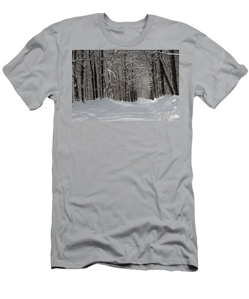 Back Rd Nh Men's T-Shirt (Athletic Fit)