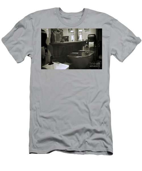 Men's T-Shirt (Athletic Fit) featuring the photograph Back When by Lori Mellen-Pagliaro