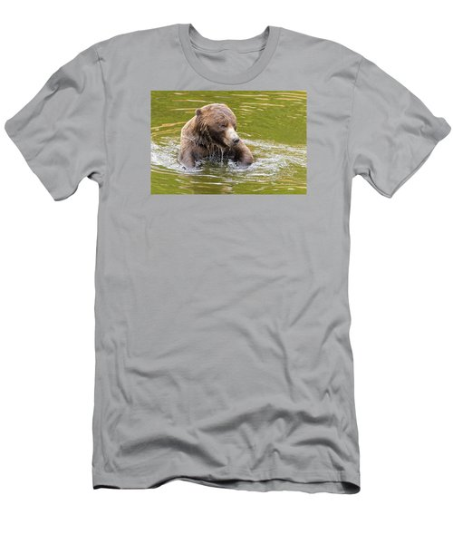Bad Hair Day Men's T-Shirt (Slim Fit) by Harold Piskiel