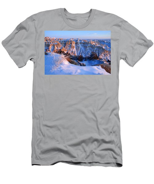 Badlands At Sunset Men's T-Shirt (Athletic Fit)