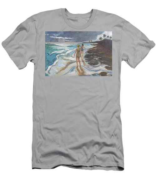 Bahia Honda Beach Men's T-Shirt (Athletic Fit)
