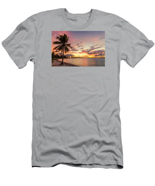 Bahia Honda State Park Sunset Men's T-Shirt (Athletic Fit)