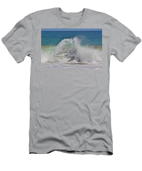 Baja Wave Men's T-Shirt (Athletic Fit)