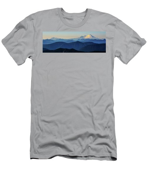 Baker From Pilchuck Men's T-Shirt (Athletic Fit)
