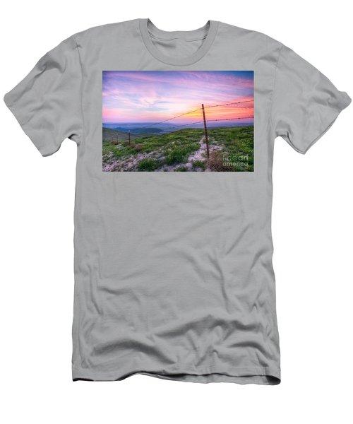 Bakersfield Hills  Men's T-Shirt (Athletic Fit)