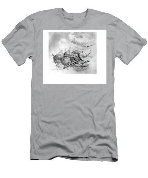 Balanced In The Field Men's T-Shirt (Athletic Fit)