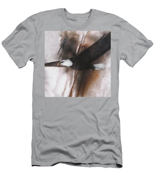 Bald Eagle Flight Men's T-Shirt (Athletic Fit)