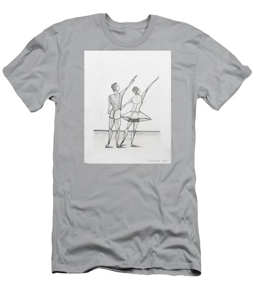 Ballet Men's T-Shirt (Slim Fit) by Tamara Savchenko