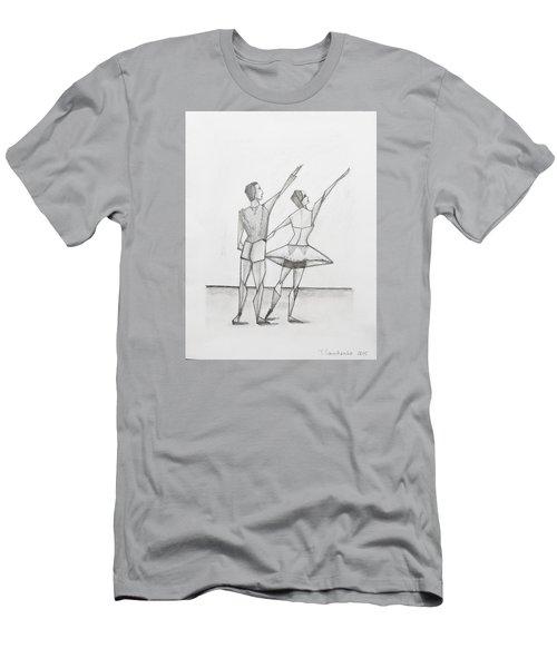 Ballet Men's T-Shirt (Athletic Fit)