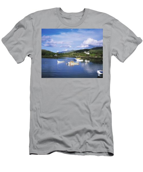 Ballycrovane Harbour, Beara Peninsula Men's T-Shirt (Athletic Fit)