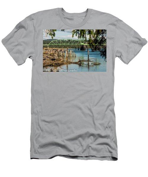 Bandon Drawbridge Men's T-Shirt (Athletic Fit)