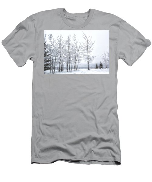 Bare Trees In Winter Men's T-Shirt (Athletic Fit)