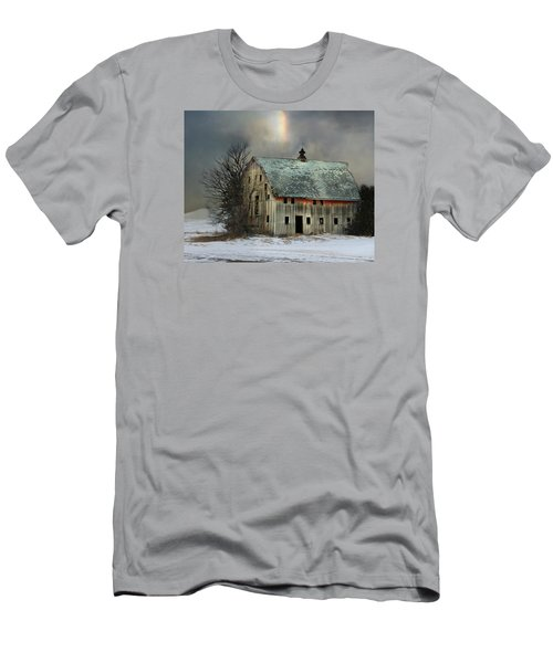 Barn And Sundog Men's T-Shirt (Slim Fit) by Kathy M Krause