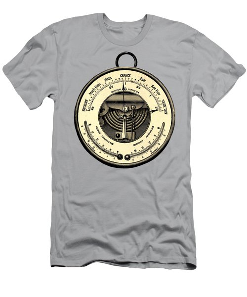 Barometer Vintage Tool Dictionary Art Men's T-Shirt (Athletic Fit)