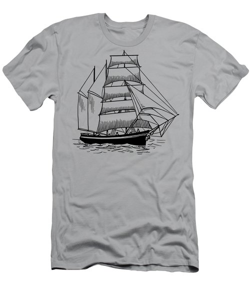 Barquentine Men's T-Shirt (Athletic Fit)