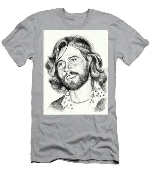 Barry Gibb Portrait Men's T-Shirt (Athletic Fit)