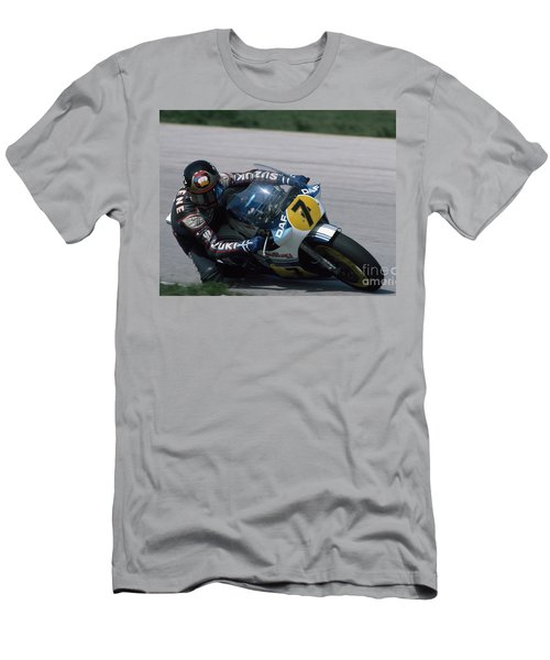 Barry Sheene. 1984 Nations Motorcycle Grand Prix Men's T-Shirt (Athletic Fit)