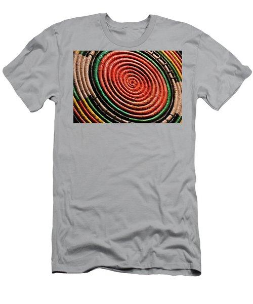 Basketry Color Men's T-Shirt (Athletic Fit)