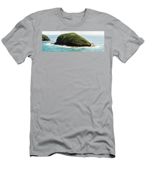 Men's T-Shirt (Athletic Fit) featuring the photograph Bass Strait Island Wilderness by Jorgo Photography - Wall Art Gallery