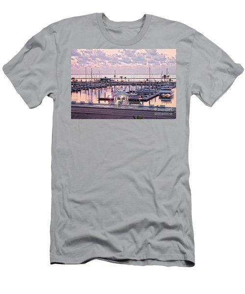 Bay Sunrise Men's T-Shirt (Athletic Fit)