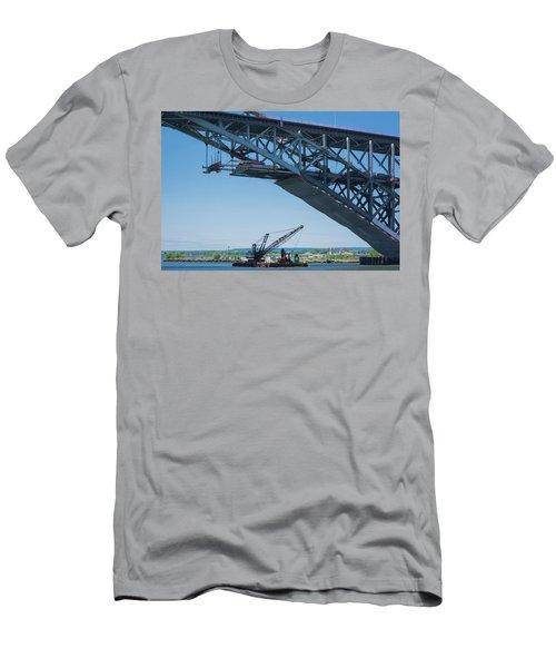 Bayonne Bridge Raising 2 Men's T-Shirt (Athletic Fit)